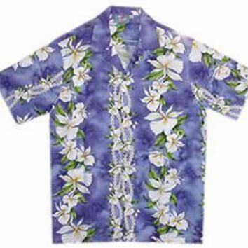orchid hawaiian boy shirt