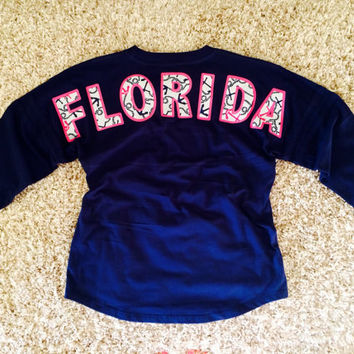 Spirit Football Jersey Boxercraft Pom Pom Pullover Lilly Pulitzer Fabric Customized