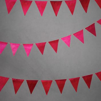 Mini Pennant Garland in  the SHOP Decor Decorating at BHLDN