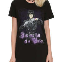 Black Butler Hell Of A Butler Girls T-Shirt