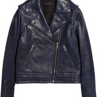 Rag & bone | Bowery leather biker jacket   | NET-A-PORTER.COM