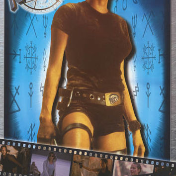 Tomb Raider Laura Croft Angelina Jolie Movie Poster 22x34