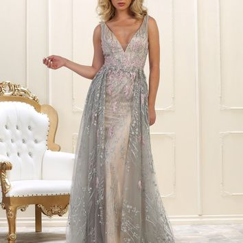 Formal Long Evening Gown Prom Couture Dress