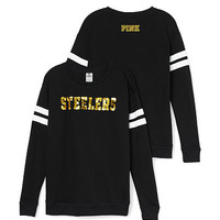 Pittsburgh Steelers Bling Crewneck Tee - PINK - Victoria's Secret