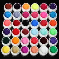 36 Colors 8ml Pure Colors UV Gel For Nail Extension