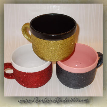 GLITTER COFFEE MUGS, 22oz Mug, coffee mug, cute coffee cups, unique coffee mug, girly coffee cup, funny quotes on mugs