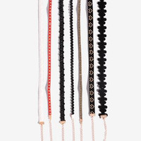 Selena Choker Set - Multi