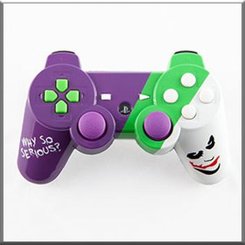 Joker Themed Custom PS3 Controller