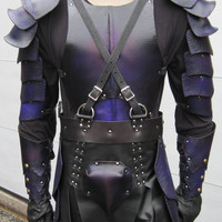 Dark Elf Fantasy Leather Armor Set
