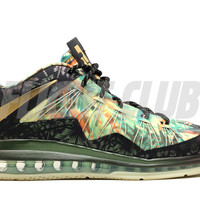 "lebron 10 low p.s elite ""championship pack"" - green/blk-gold - Lebron James - Nike Basketball - Nike 