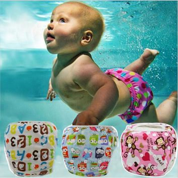 The Adjustable Waterproof Swimming Diaper