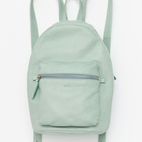 Leather Backpack - Sea Glass