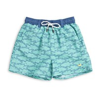Youth Dockside Swim Trunk - Schools Out by Southern Marsh