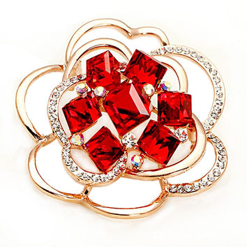 Shiny Gift New Arrival Stylish Classics Crystal Luxury Jewelry Alloy Accessory Ring [4989649092]