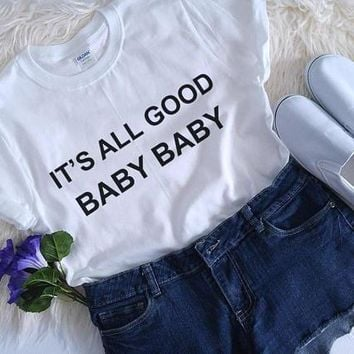 Its All Good Baby Baby Kid's T-Shirt