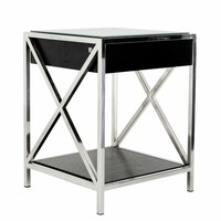 Black Side Table | Eichholtz Beverly Hills