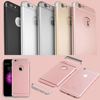Hard Plastic Case For Iphone 6 6s 4.7 Iphone 6 6s 5.5 Rose Gold Case