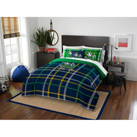 Notre Dame Fighting Irish NCAA Full Comforter Set (Soft & Cozy) (76 x 86)