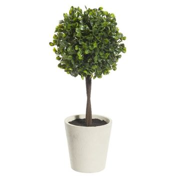 Artificial boxwood pot plant H 30cm | Maisons du Monde