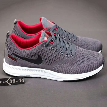 NIKE Men Running Sport Casual Shoes Sneakers Dark grey G-A-YYMY-XY