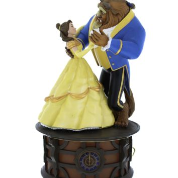 disney parks beauty and the beast spinning dancing music box be our guest new box