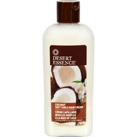 Desert Essence Soft Curls Hair Cream Coconut - 6.4 Fl Oz