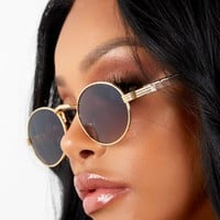 Scorpion Sunglasses Light Gold