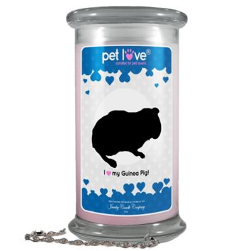 I Love My Guinea Pig!   Pet Love Candle®