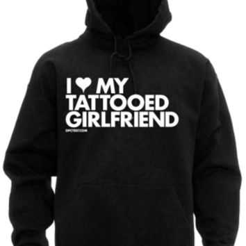 Men's I Heart Tattooed Girlfriend Sweatshirt