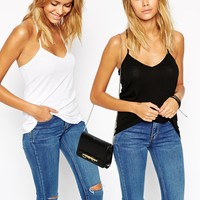ASOS The Ultimate Cami 2 Pack SAVE 20%