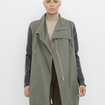 INCOGNITO MILITARY ANORAK JACKET