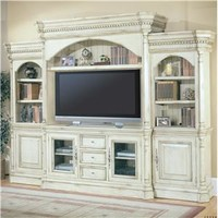 Parker House Westminster 5 Piece Entertainment Center Wall Unit  - Suburban Furniture - Wall Unit Succasunna, Morristown, Parsippany, Morris County, Flanders, New Jersey, Roxbury Township, and Northern New Jersey