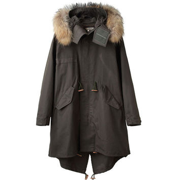 United Bamboo Unisex Fishtail Parka