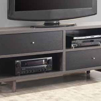 Coaster Fine Furniture Tv Console Black / Gray 700795