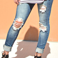 THE MALLORY SKINNY JEAN