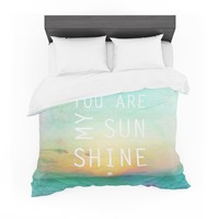 """Alison Coxon """"You Are My Sunshine"""" Featherweight Duvet Cover"""