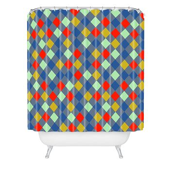 Caroline Okun Cerise Shower Curtain