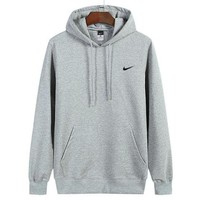 Nike Women Man Fashion Print Sport Casual Top Sweater Pullover Hoodie Tagre™