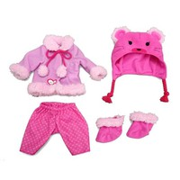 Baby Alive One Size Fits All Outfit - Bear Coat by Funrise