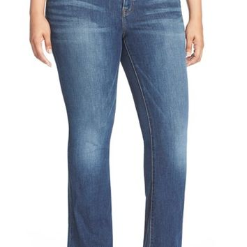 Plus Size Women's Lucky Brand 'Ginger' Bootcut Jeans ,