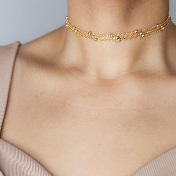 Wrapped Satellite Choker