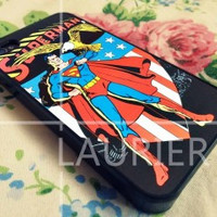 Superman Comic iPhone Case And Samsung Galaxy Case