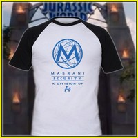 Jurassic World Masrani One Sided Security T-Shirt