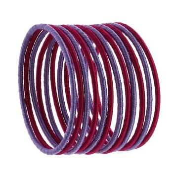 Costume Bangle Bracelet Fashion Jewelry Indian Colorful Thread