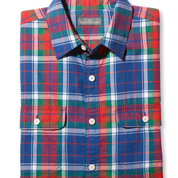 Men's Signature Castine Flannel Shirt, Slim Fit | Free Shipping at L.L.Bean