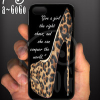 iPhone 5 case,  Louboutin Daffodile 160  / Marilyn Monroe Quote design, custom cell phone case