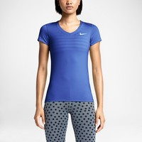 NIKE PRO FITTED SHORT-SLEEVE