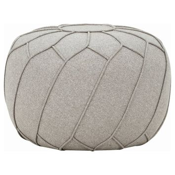 "Modern Decorative Floor Seating ""Saturn"" Ottoman/Pouf"