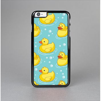 The Cute Rubber Duckees Skin-Sert for the Apple iPhone 6 Plus Skin-Sert Case