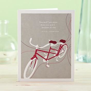 You And I Are More, A Positively Green Love and Valentine's Day Card